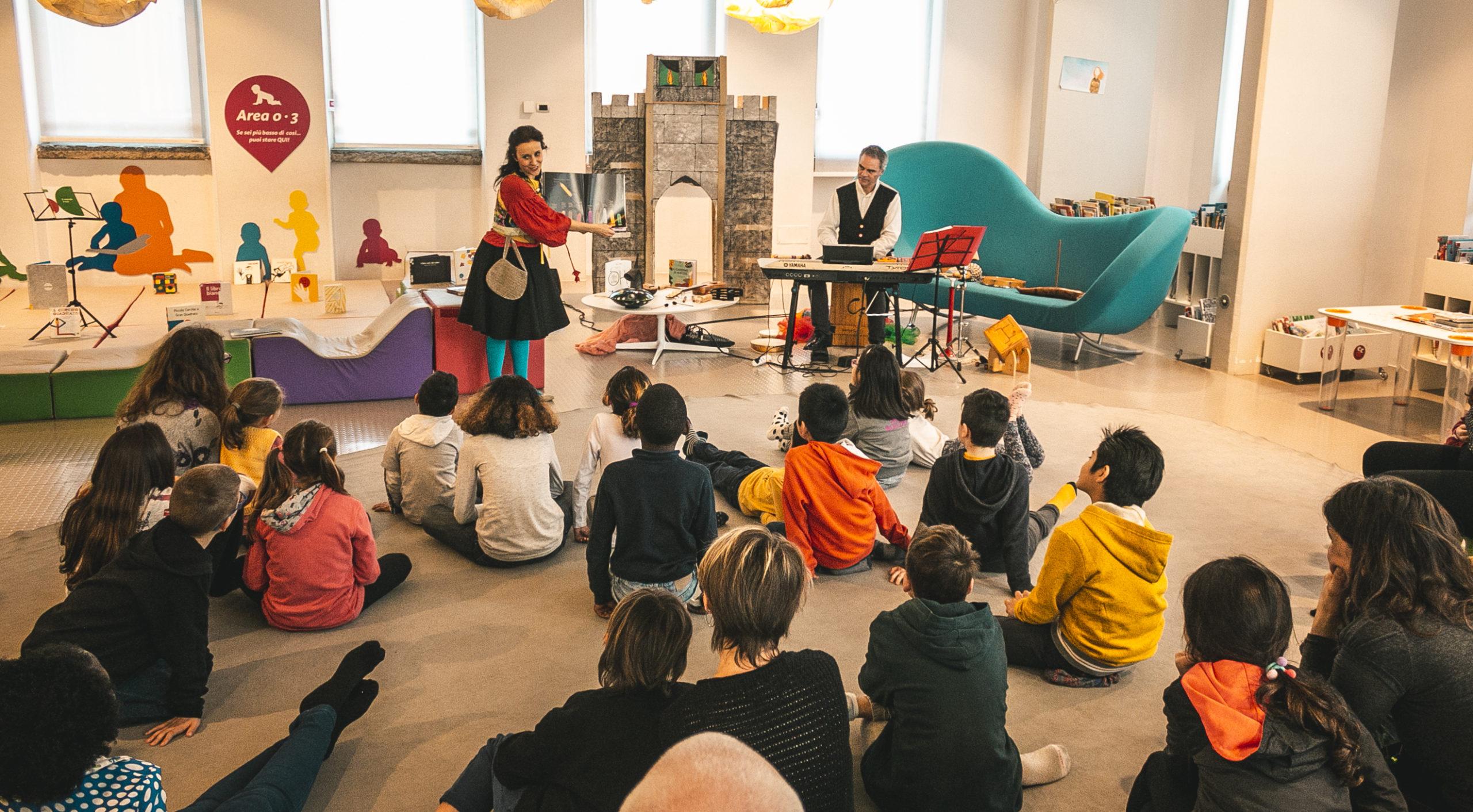 FORME E COLORI IN MUSICA con Daniele Longo - Biblioteca IlPertini