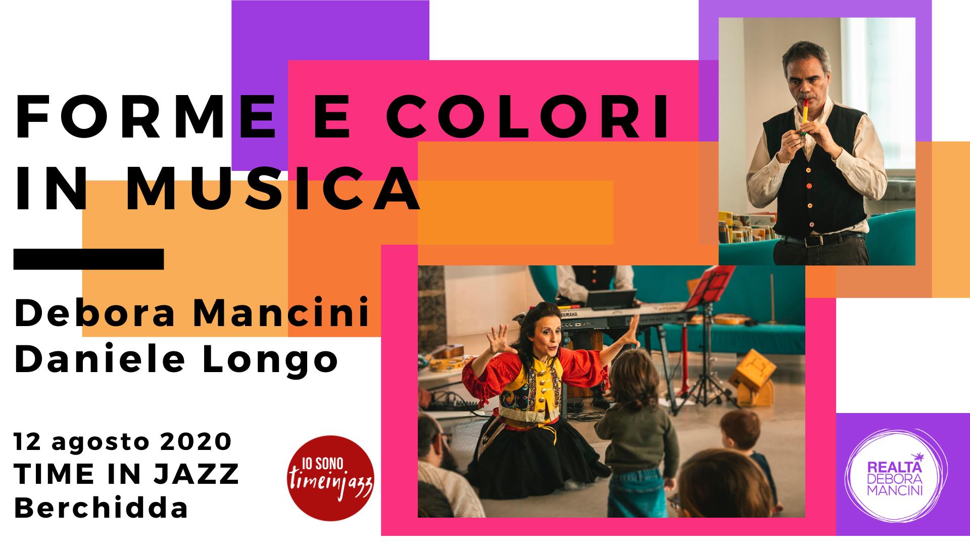 Forme e colori in musica @Time in Jazz 2020