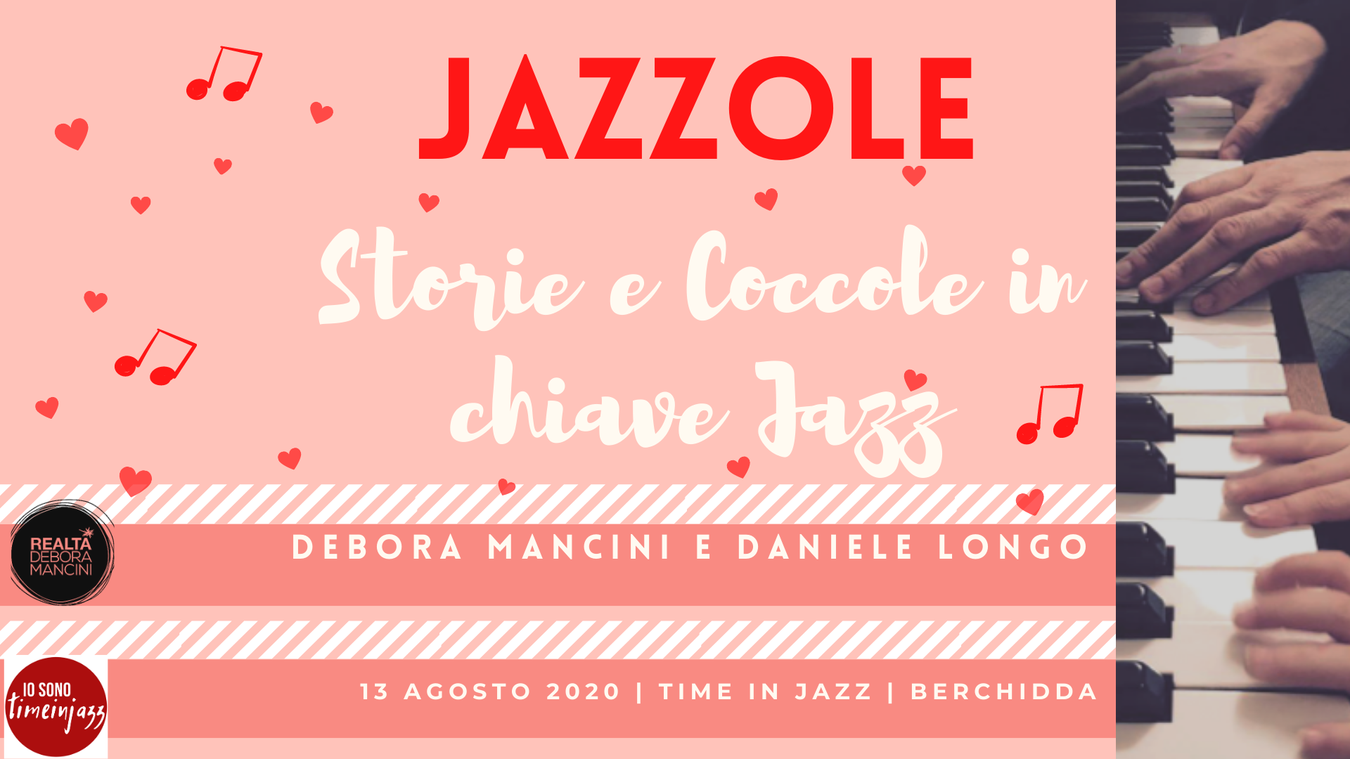 Jazzole-Storie e Coccole in chiave Jazz @Time in Jazz 2020